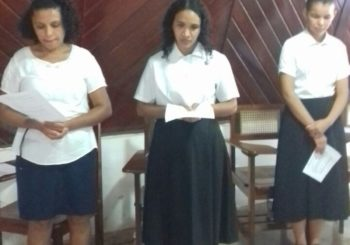 Beginning of Postulancy and Novitiate in Brazil