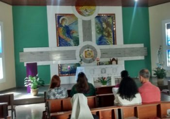 Moment of spirituality for our teachers in Brazil
