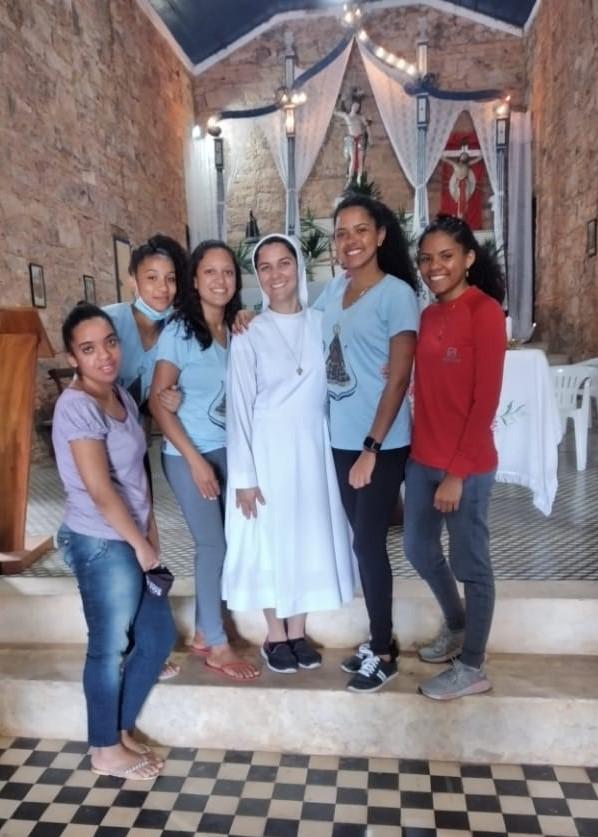 Incontro con i giovani di Bahia